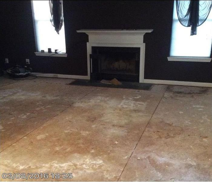 Living Room Encountered Flooding in Decatur, GA After