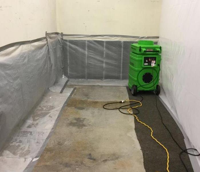Mold Remediation in Progress in Decatur, GA