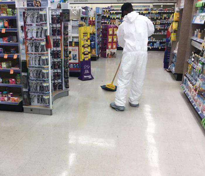 Commercial Cleanup of Minor Chemical Spills